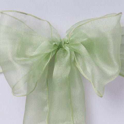 Sage organza Table Runner - Wedding Sparkle - wedding - event - hire