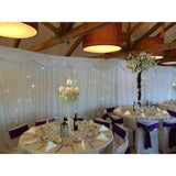 Star Curtain - Wedding Sparkle - wedding - event - hire