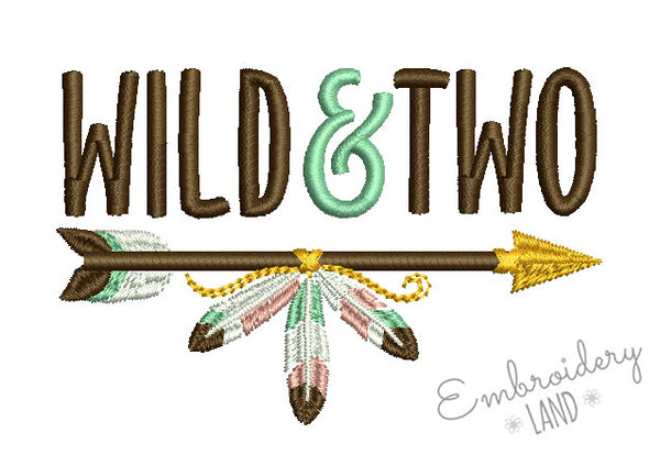Wild and Two Arrow DE083