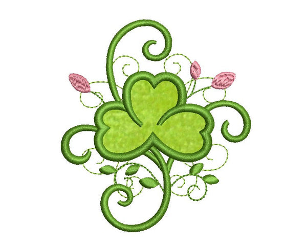 Shamrock Whimsical Applique SP005