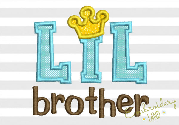 Lil Brother Applique SA006
