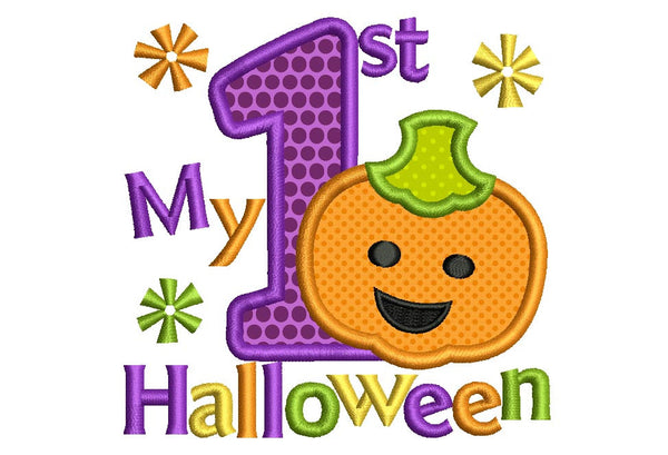 My First Halloween Applique HAL012
