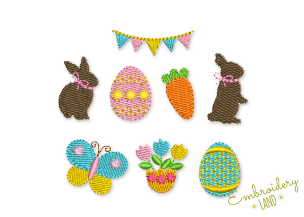 Easter Mini Designs Set 8 designs EA015