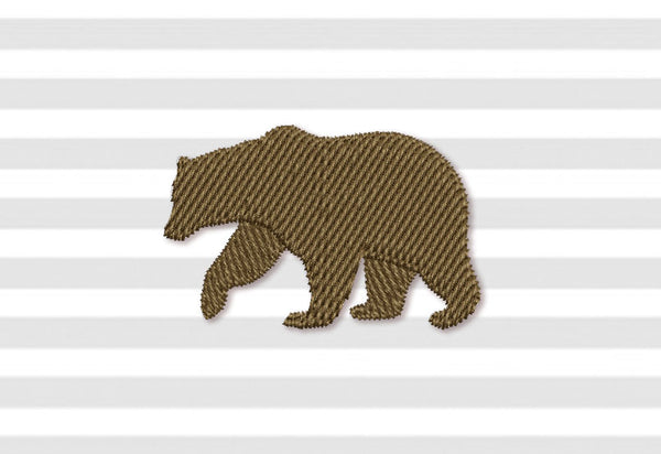 Bear Filled Mini Design AN057