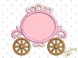 Carriage Monogram Applique GRL018