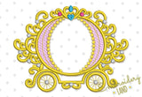 Carriage Monogram Design DE039