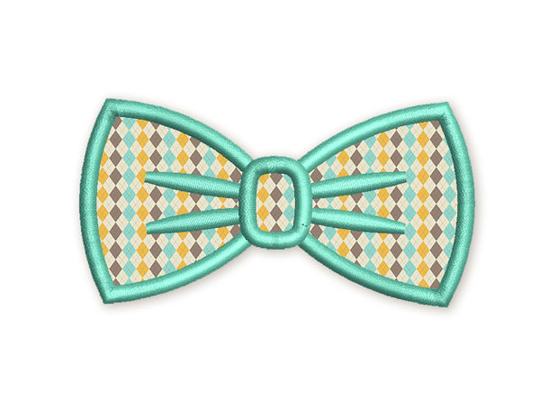 Bow Tie Applique DE046