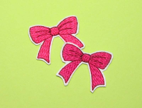 Bow Mini Embroidery Design for Girls M11