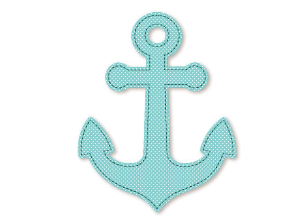 Anchor Free Edge Applique DE023