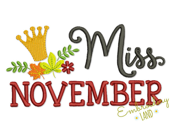 Miss November Autumn TG025