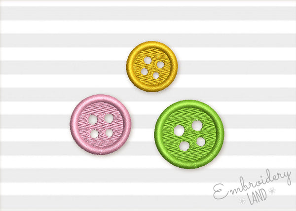 Button Filled Mini Design DE078