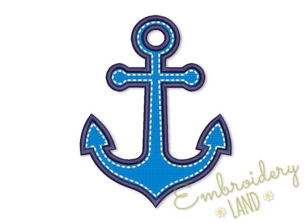 Anchor Satin Applique and Handstitches DE025