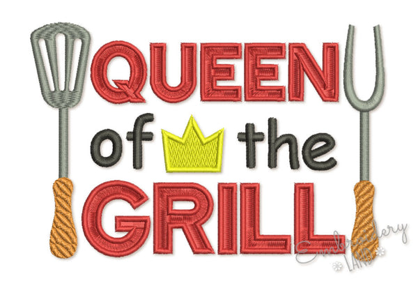 Queen of the Grill DE076