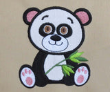 Panda Baby Machine Embroidery Applique BA012
