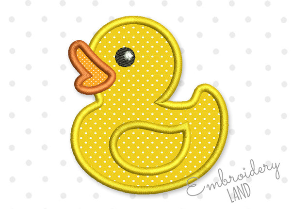 Duck Applique BA058