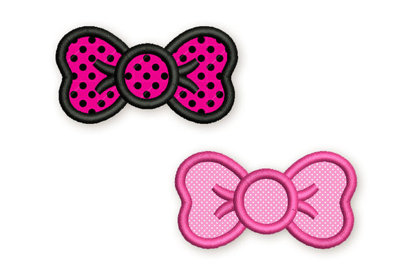 Bow Applique DE049