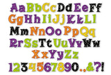 Halloween Applique Alphabet Font AL027