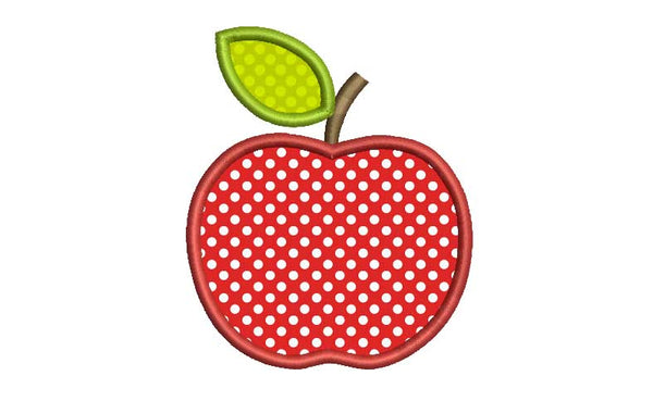 Apple Back to School Applique BS002