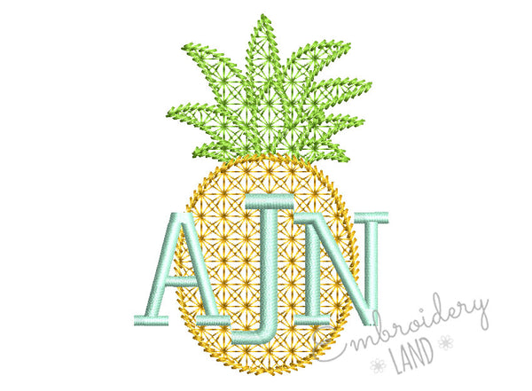 Pineapple for Monogram Motif Fill DE077