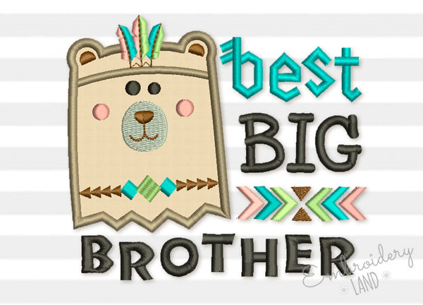 Best Big Brother Bear Native Design BA038