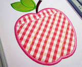 The Apple Real Pocket Applique ITH Project ITH008
