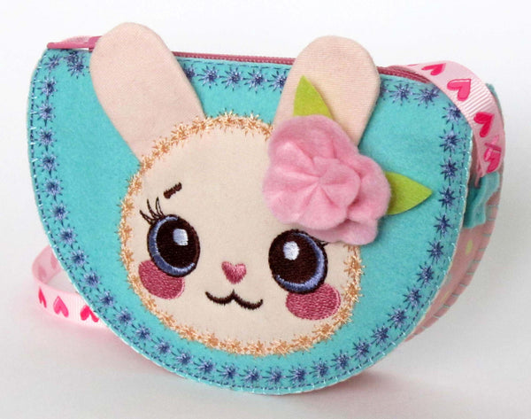 Kawaii Bunny Bag for Girls In The Hoop Project ITH001