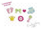 Baby Mini Designs Set 7 pcs BA054