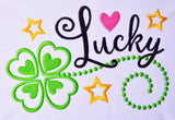 Lucky St Patrick Filled Design SP011