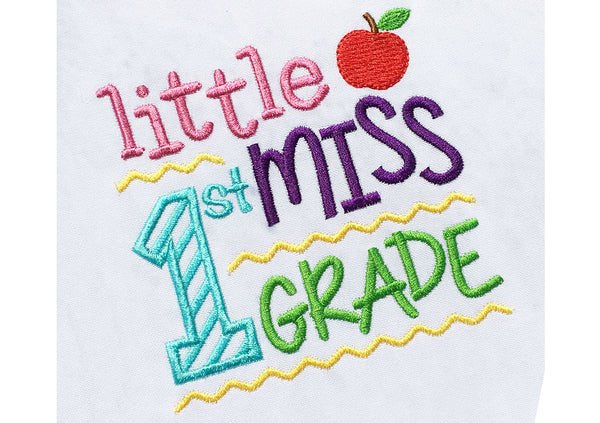 Little Miss 1st Grade BA028