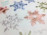 Snowflakes Designs Set CHR082