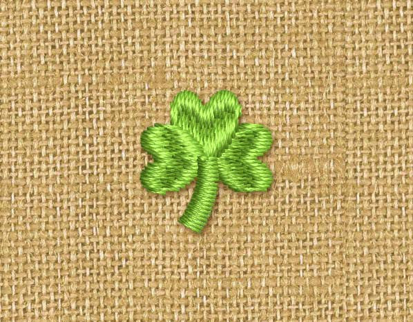 Mini Shamrock Embroidery Design M14