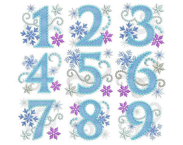 Ice Princess Applique Design Set HB033
