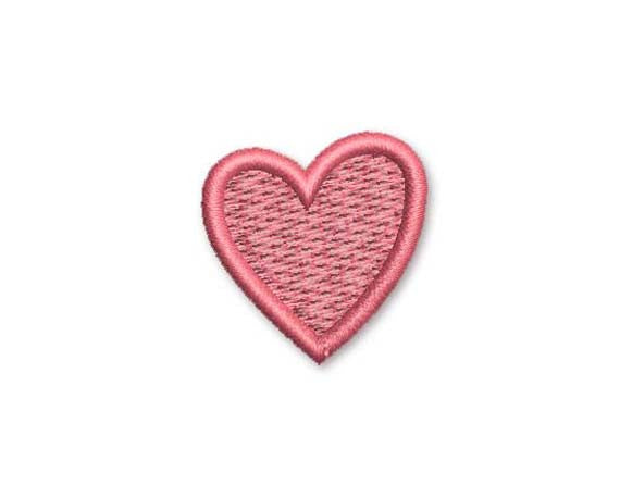 Heart Mini Embroidery Design M19