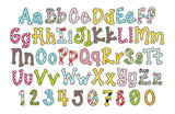 Coupon Codes! Running Stitch Applique Alphabet AL014