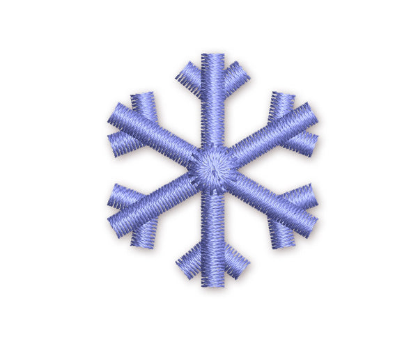 Snowflake Mini Embroidery Design M5
