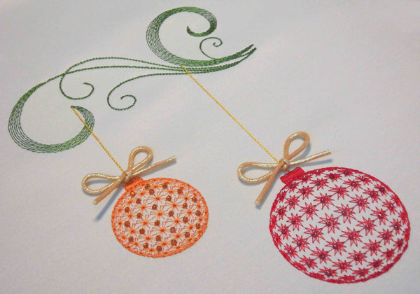 Christmas Decor Embroidery Design CHR003
