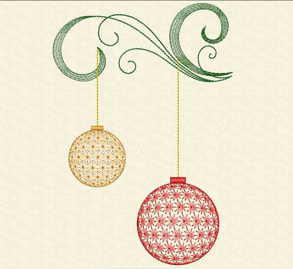 Christmas Decor Embroidery Design At EmbroideryLand