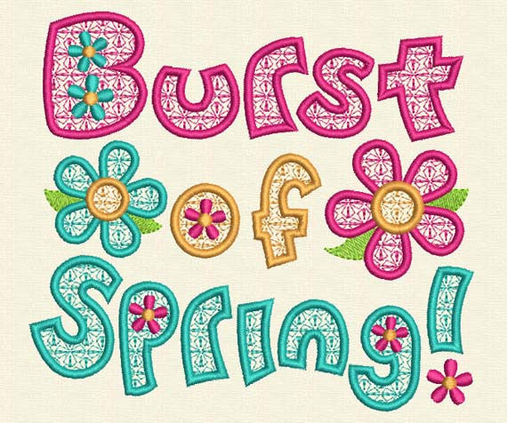 Burst of Spring SP001