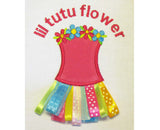 Lil Tutu Flower Applique BA004
