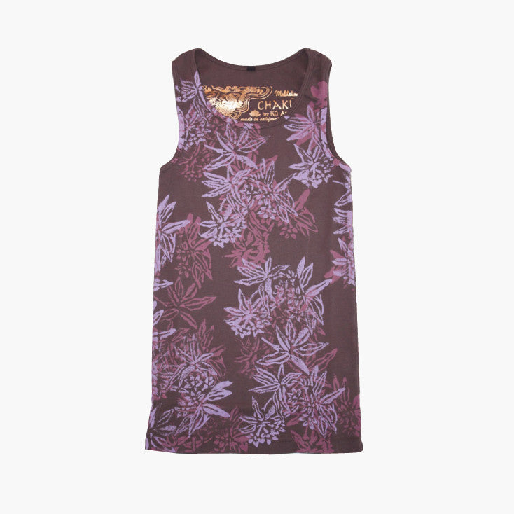 Ladies Flower Tank Top - Ku Brands