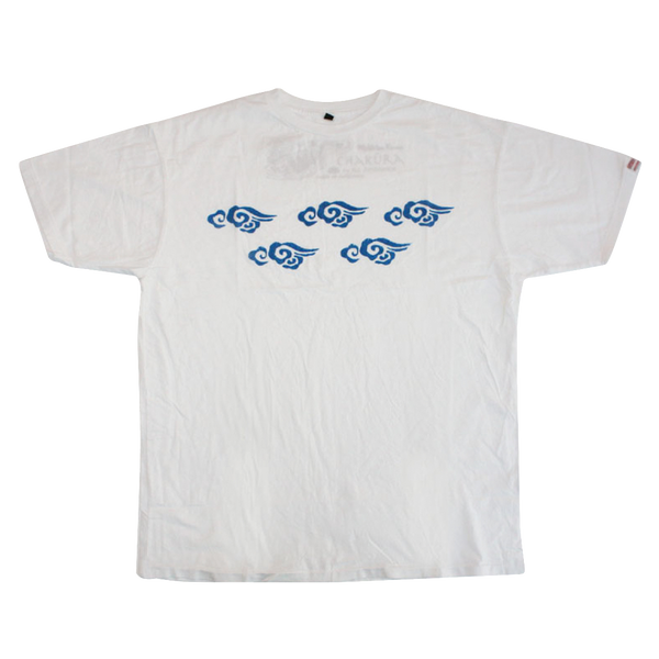Mens Supima Baby Jersey Cotton Tee with Ku Clouds