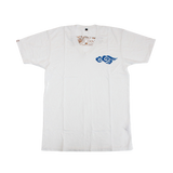 Mens Supima Baby Jersey Cotton V Neck Tee with Ku Cloud