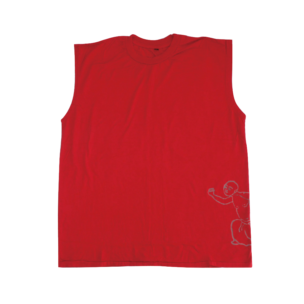 Mens Sleeveless Tee with Medicine Man