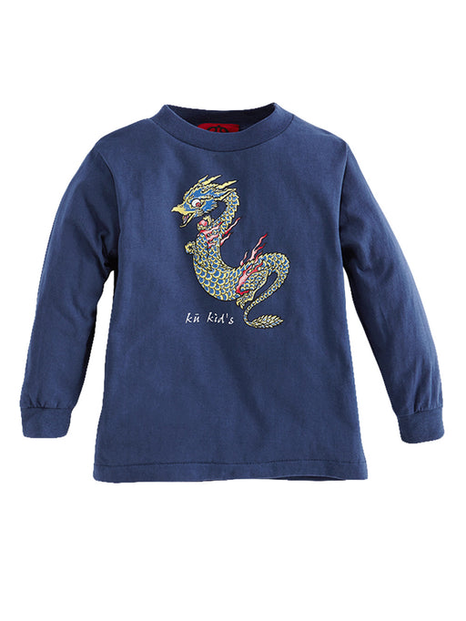 KU KID'S Long Sleeve Baby Dragon Tee - Ku Brands