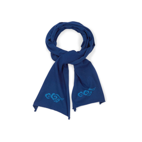 Chakura Supima Cotton Scarf with cloud prints - Ku Brands