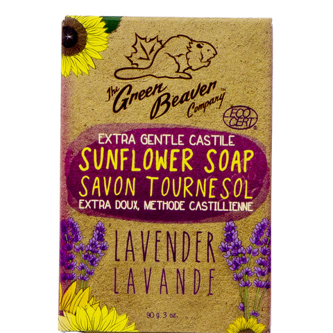 Lavender Bar Soap - Green Beaver (90 g)