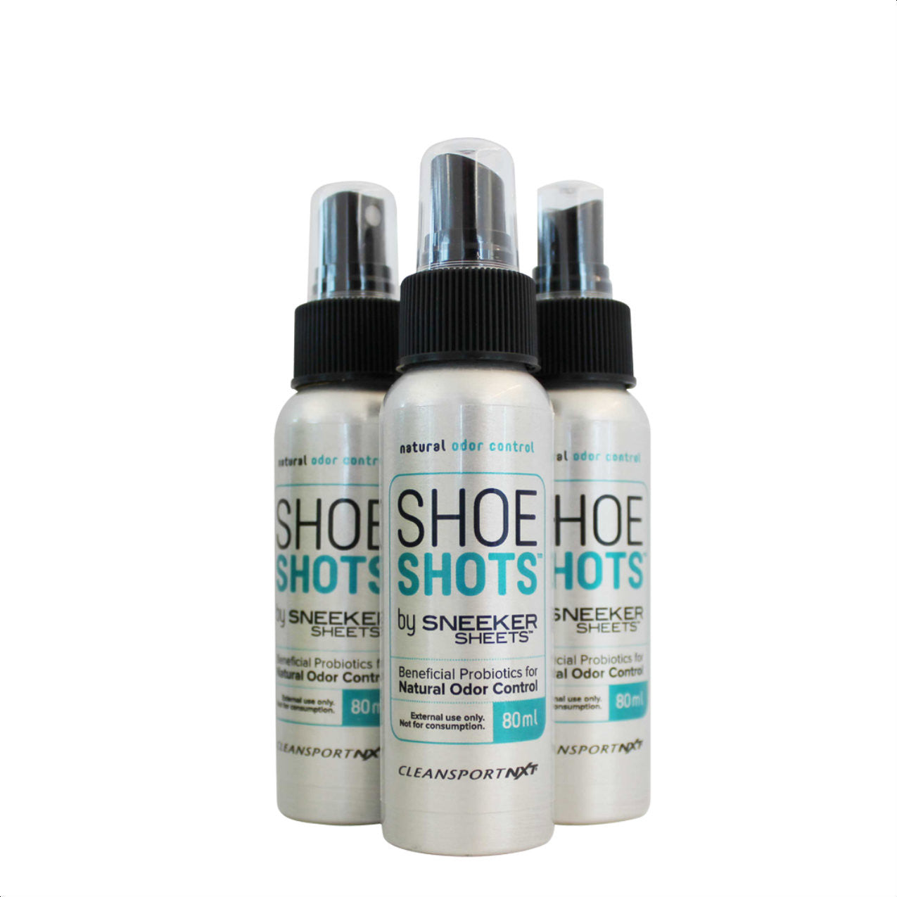 shoe shots odor control spray 80 ml