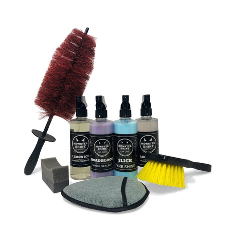 Wheel & Tyre Deluxe Kit - Monstershine Car  Care