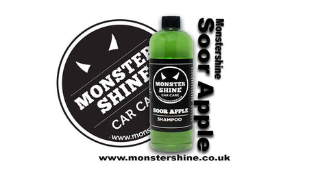 Monstershine car care pH neutral Shampoo Soor Apple Shampoo