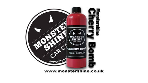 Monstershine Car Care Cherry Bomb Quick Detailer was developed to give your car that ultimate shine